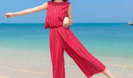Jumpsuit thời trang đi biển