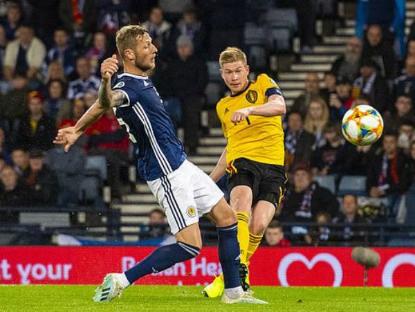 De Bruyne tỏa sáng rực rỡ trong chiến thắng của Bỉ