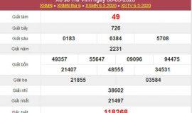 Soi cầu KQXS Trà Vinh 13/3/2020 - Dự đoán XSTV chuẩn xác